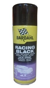 RACING BLACK (mat sort) - 400 ml.